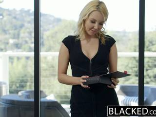 Blacked ładne blondynka hotwife aaliyah miłość i jej czarne lover