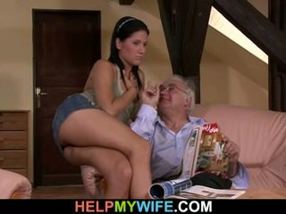 তরুণ বউ gets hooked উপর সঙ্গে একটি stranger