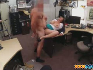 Sucking Dick To Bail Her Man Out Of Jail In A Pawn Shop