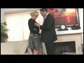 Alana evans handjob
