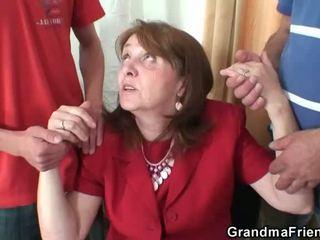 starszych, babcia, babunia