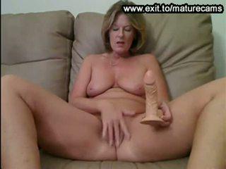 webcam, toying, granny
