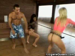 Aerobics y lingeries