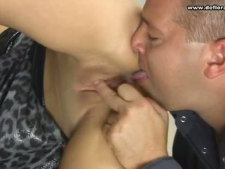 The best way to tear hymen