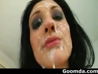 éjaculations, soins du visage