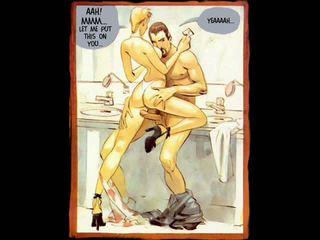 Erotik e pacensuruar seks komike