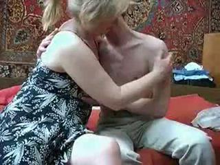 Стар мама с от russia