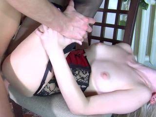 Paulina and Rolf - russian hardcore anal