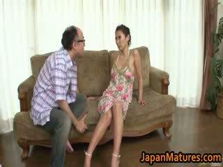 Asuka yuki príťažlivé vyzreté orientálne naivka