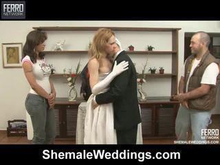 Zmiešať na klipy podľa shemale weddings