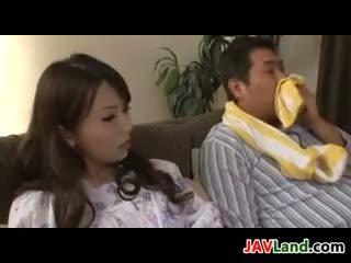 Beautiful Japanese Housewife Having Sex