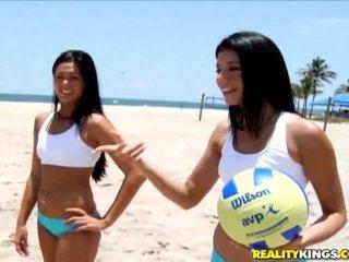 I like the brunette one. You?