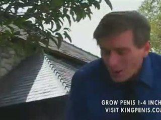 Heet roodharige tiener kitty marie plowed door ouder man