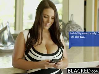 Blacked μεγάλος φυσικός βυζιά αυστραλιανό μωρό angela άσπρος/η fucks bbc