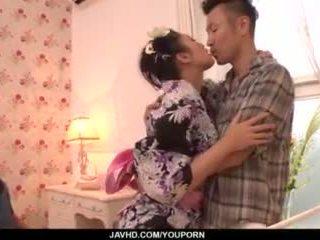 Reiko kobayakawa 肯定 loves 他媽的 在 臟 modes