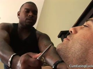 Hubby tied at teased while kimberly enjoys a bbc