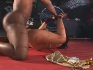Latina Pornstar Angelina Castro Fucks Black MMA Fighter