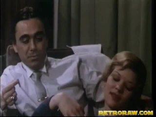 σεξ στο τμήμα titties, στην κουζίνα γυμνό, vintage porn