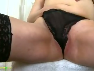old, toying, solo girl