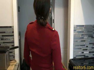 Big ass real estate agent sexes her cl...