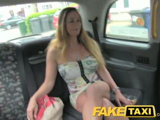 FakeTaxi Hungarian stunner with great body and tits