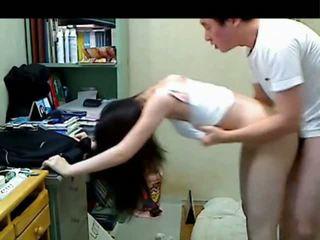 Coreana más viejo hermano follando su younger sister