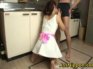 Ann takamiya एशियन floozy enjoys getting