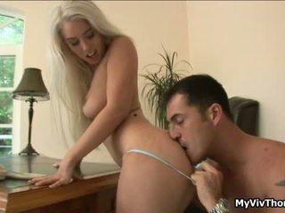 Nadržený blondýnka nymph has sensuous attractive