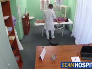 Mainit adela gets doctors malaki titi therapy
