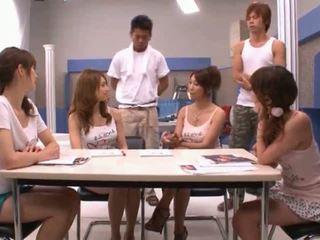 하드 코어 섹스, 일본의, 그룹 섹스