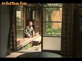 जापानी, पिता, बेटी