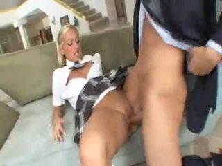 Skolniece lilly kingston seduces fathers boss
