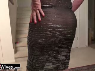 Usawives 成熟 女士 jade solo masturbation: 免費 色情 f9