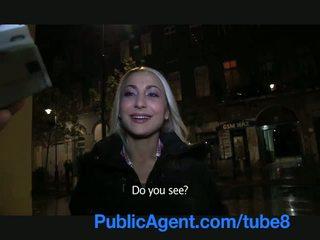 Publicagent сексуальна білявка з фірма дупа swallows сперма
