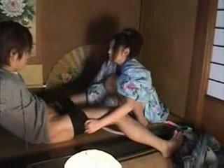 اليابانية عائلة (brother و sister) جنس part02