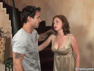 hardcore sex, bộ ngực to, âm hộ khoan