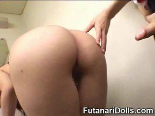 Futanari cums on murid wedok!