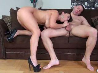 Liza del sierra gets hậu môn fucked lược và facialized video