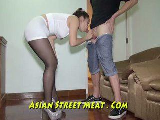 Incatenato su podgy asiatico piglet