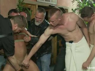 Muscle mate gangbanged la club eros sex club