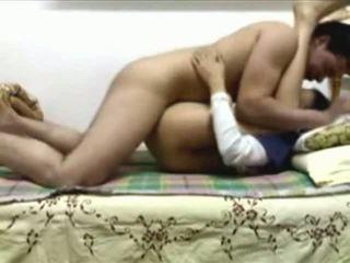 Egyptské pár mať niektorí sex