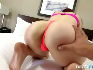 Dirty Flix - Hairy Nubile Loves Rough Fuck