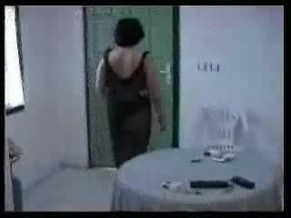 Arab موم و two شاب boys محلية الصنع فيديو
