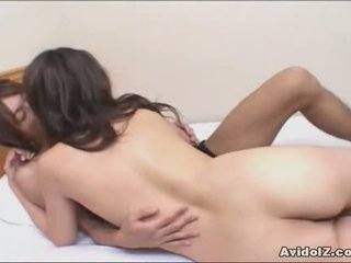 Japanese Woman Gives Blowjob And Is Fucked