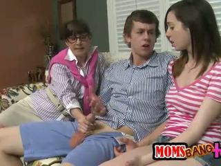 grupinis seksas, nemokamai ji-vyras tikras, malonumas threesome