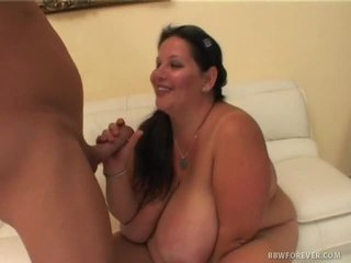 Bbw may huge brassiere buddies goes after jock