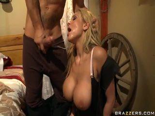 Alanah rae appreciates 該 女牛仔 上 該 rod