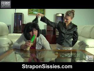 হার্ডকোর সেক্স, femdom, strapon