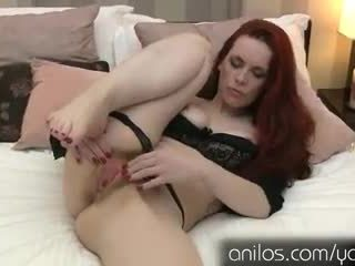 Watch her ass pulse with pleasure when her hairy pussy cums