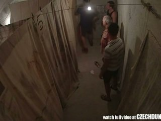 Shocking shots से eastern युरोपियन underground brothel